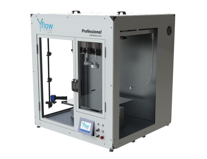 Yflow® Coaxial Electrospraying & Electrospinning Machines